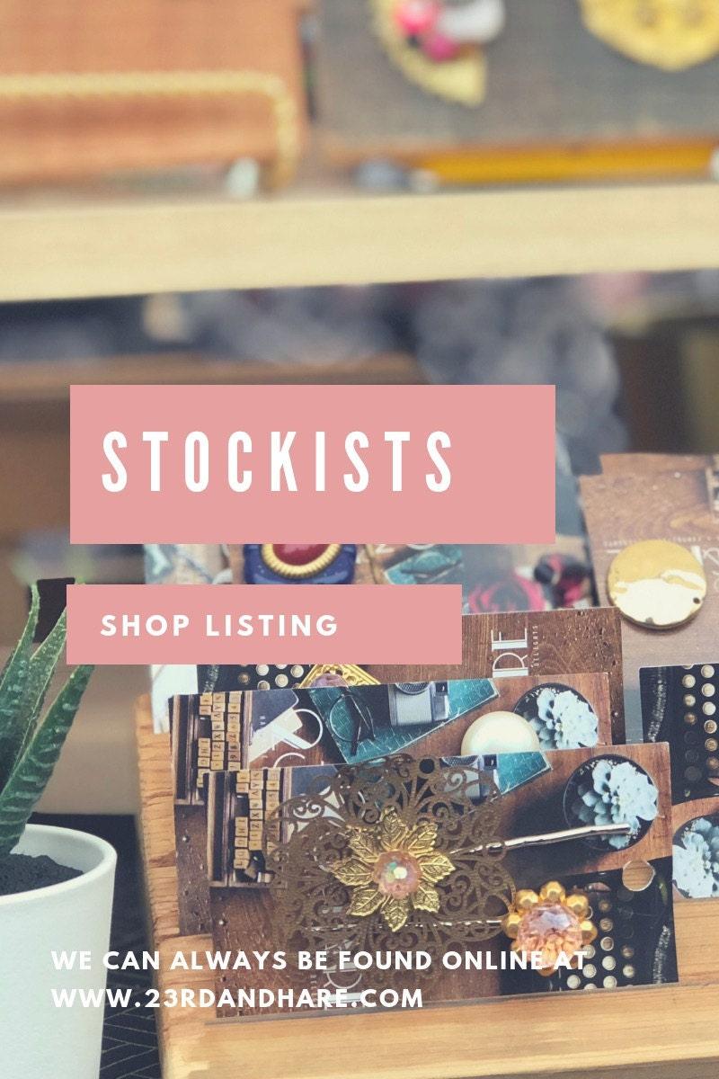 Stockists Shop Listings