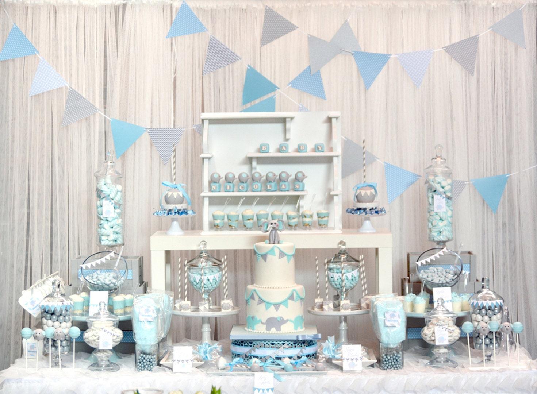 elephant baby shower theme
