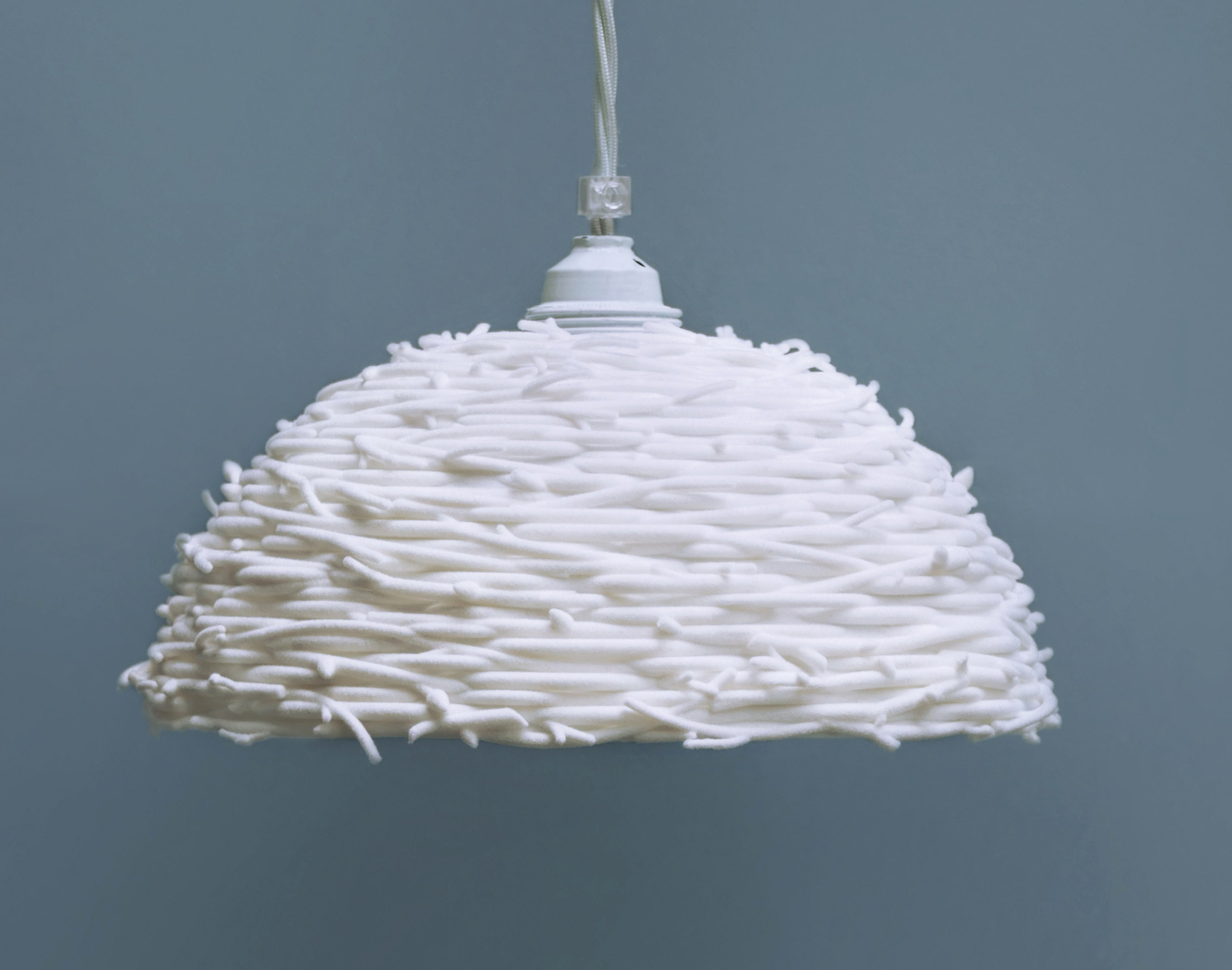 3D printed Nest lampshade