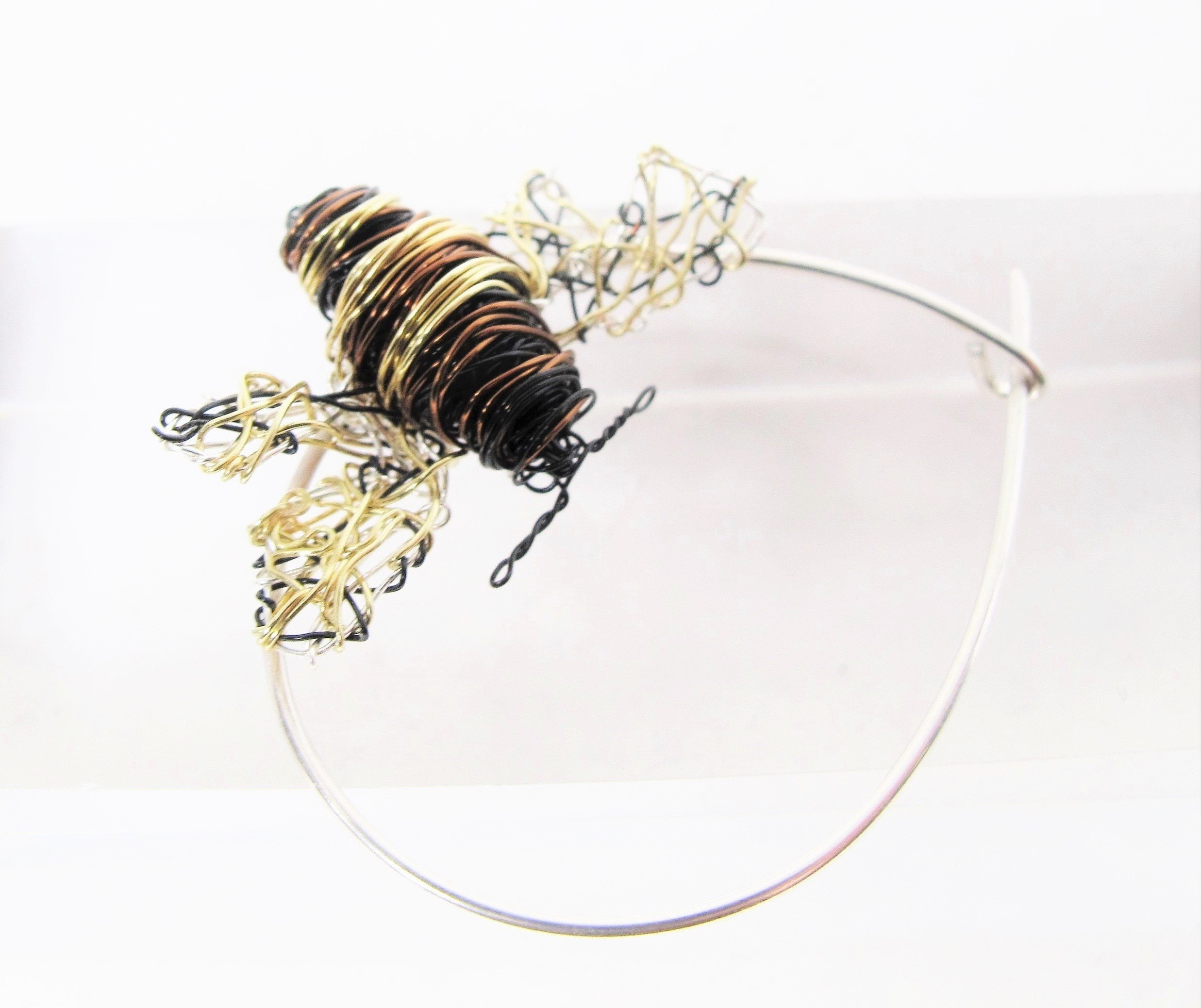 bee brooch, art brooches and pins