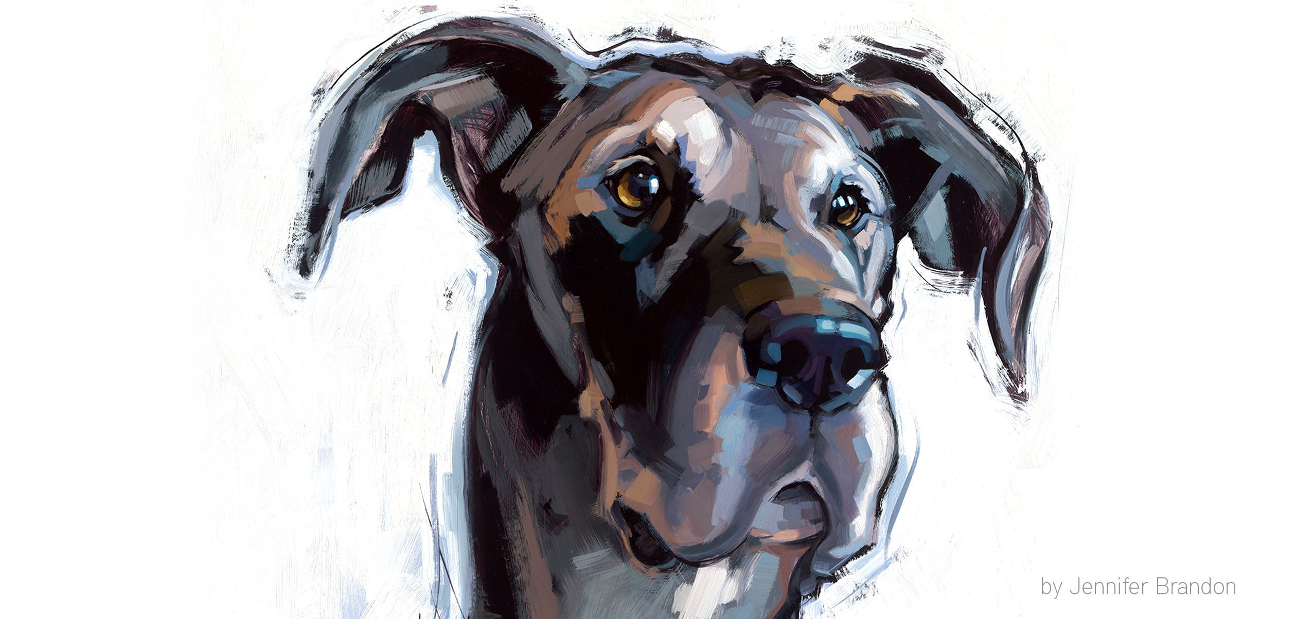 Custom Painting for BISSELL of Great Dane Rescue