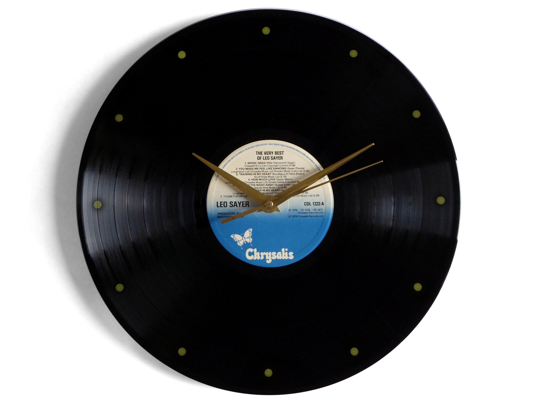 Leo Sayer Very Best Of Vinyl Record Wall Clock