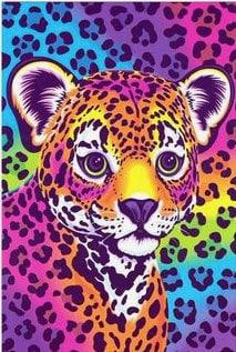 Lisa Frank tiger