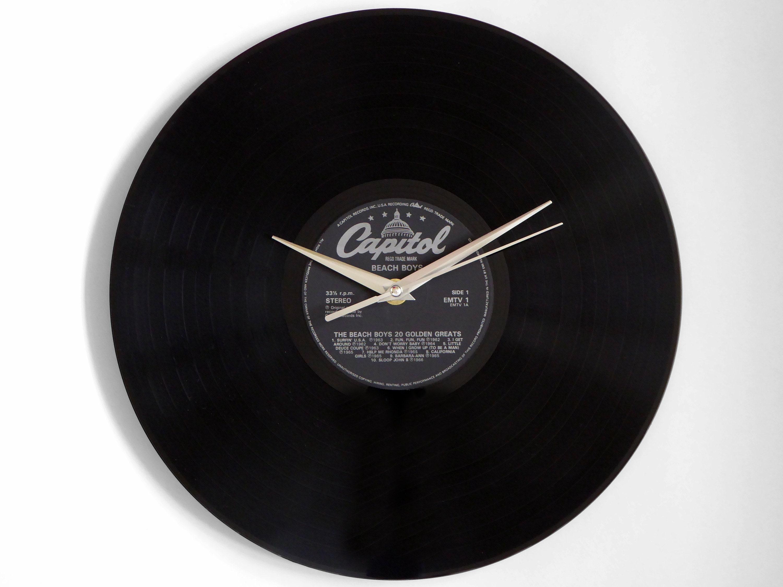 Beach Boys Golden Greats Vinyl Record Wall Clock