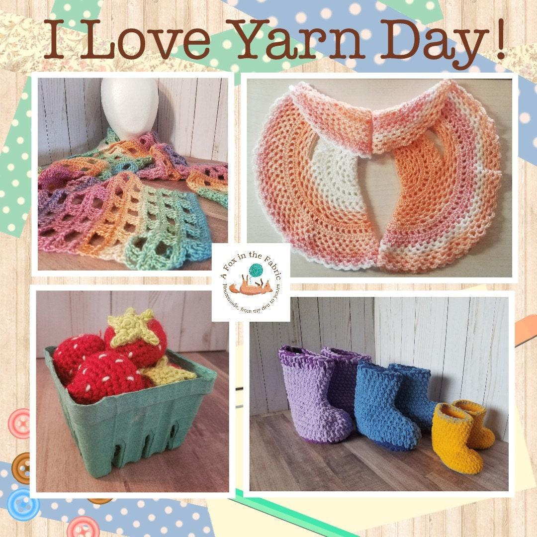National I Love Yarn Day