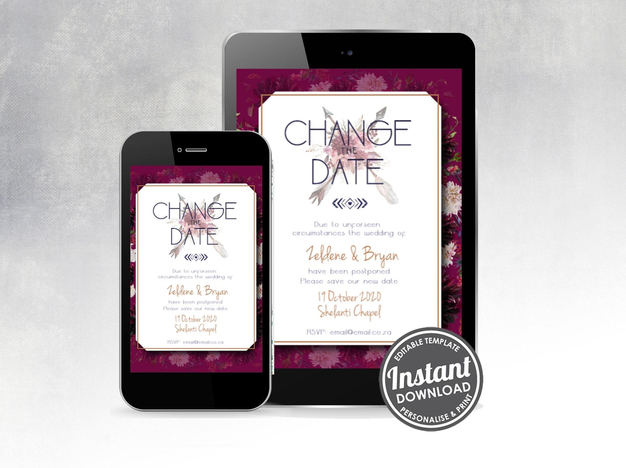 Change the Date - Bohemian