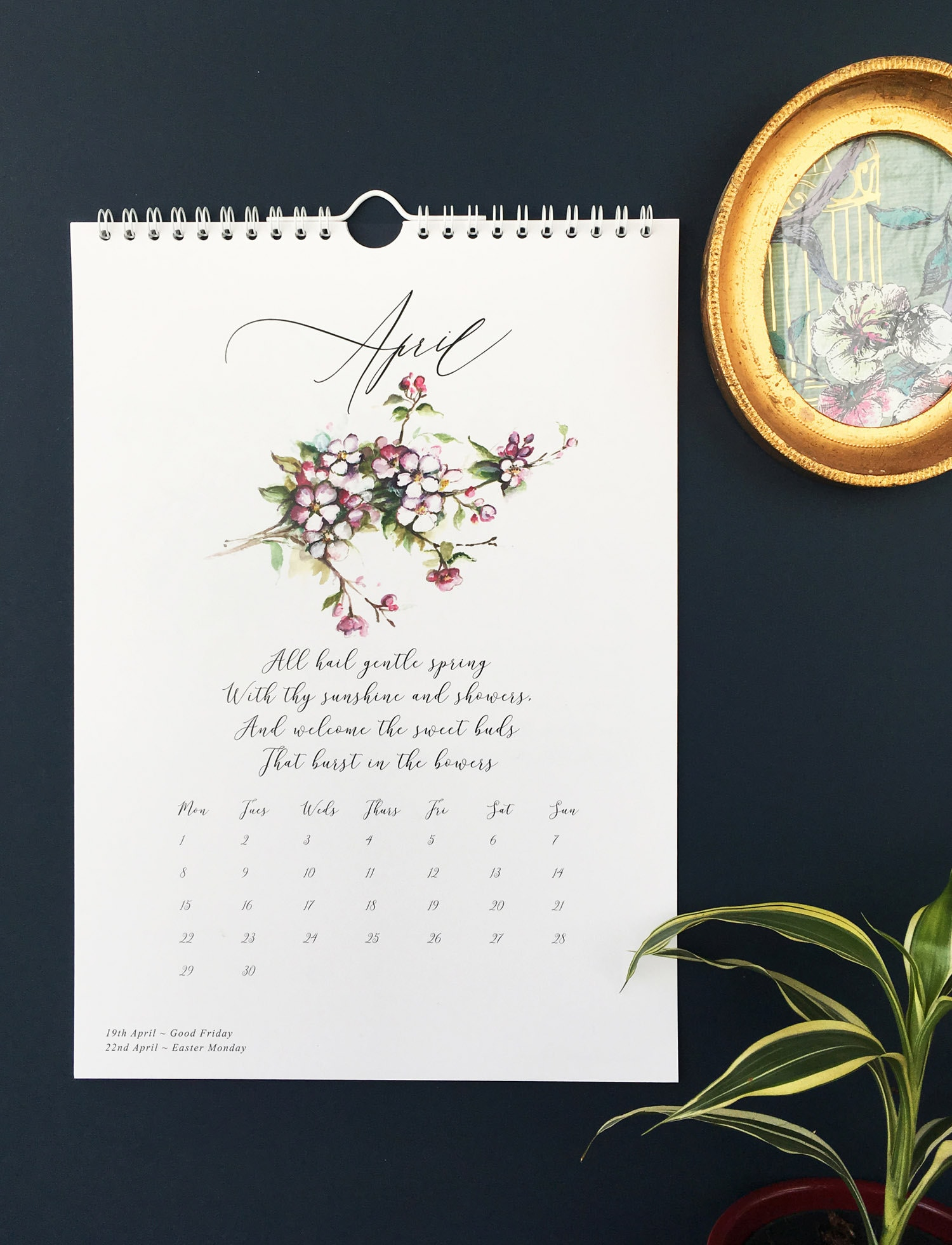 calendar 2019 by moon and tide