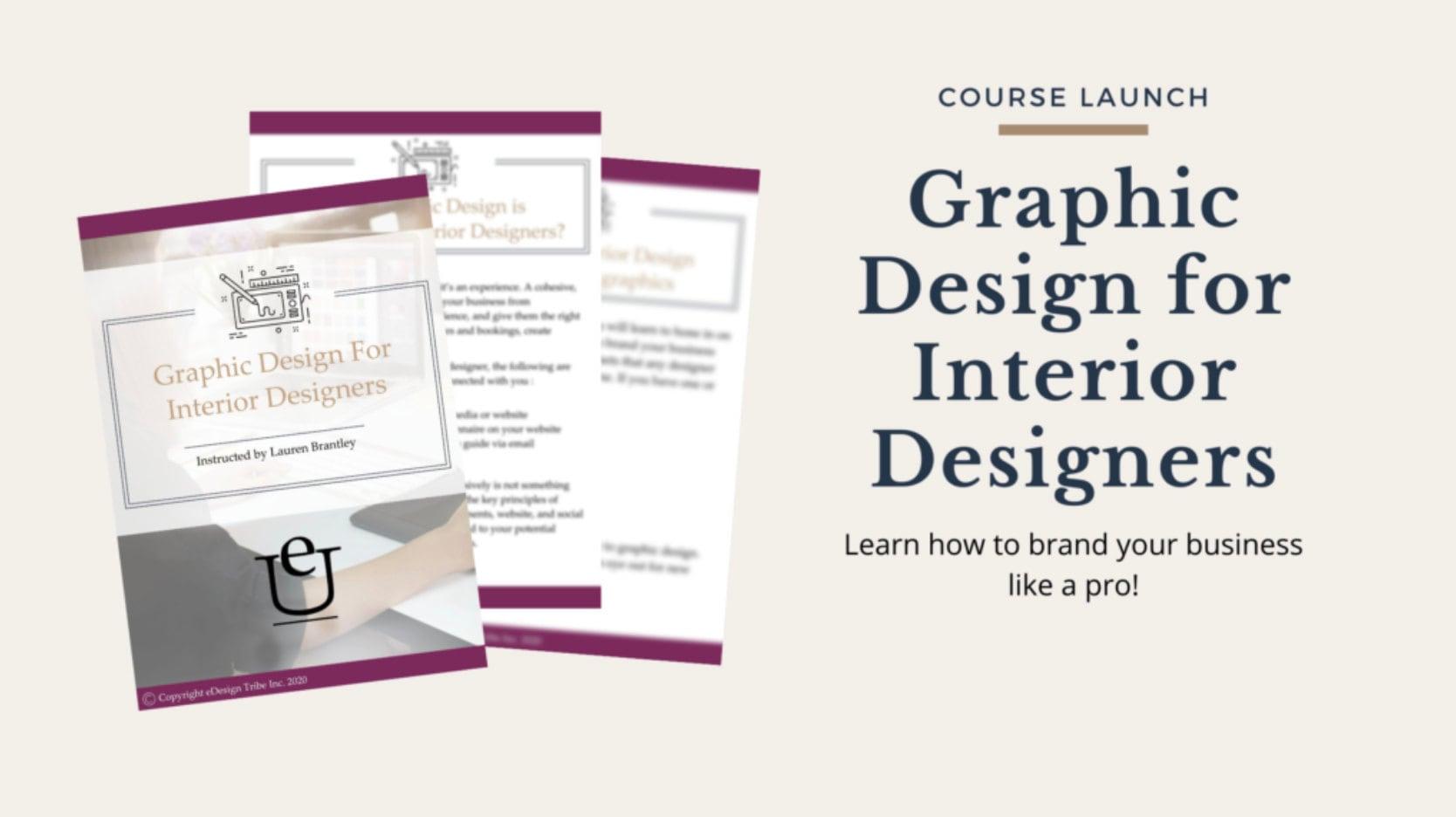 Graphic Design for Interior Designers