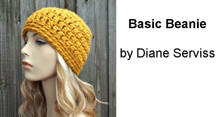 30 Minute Basic Beanie - A Free Crochet Pattern Using Super Bulky Yarn 161062fff11