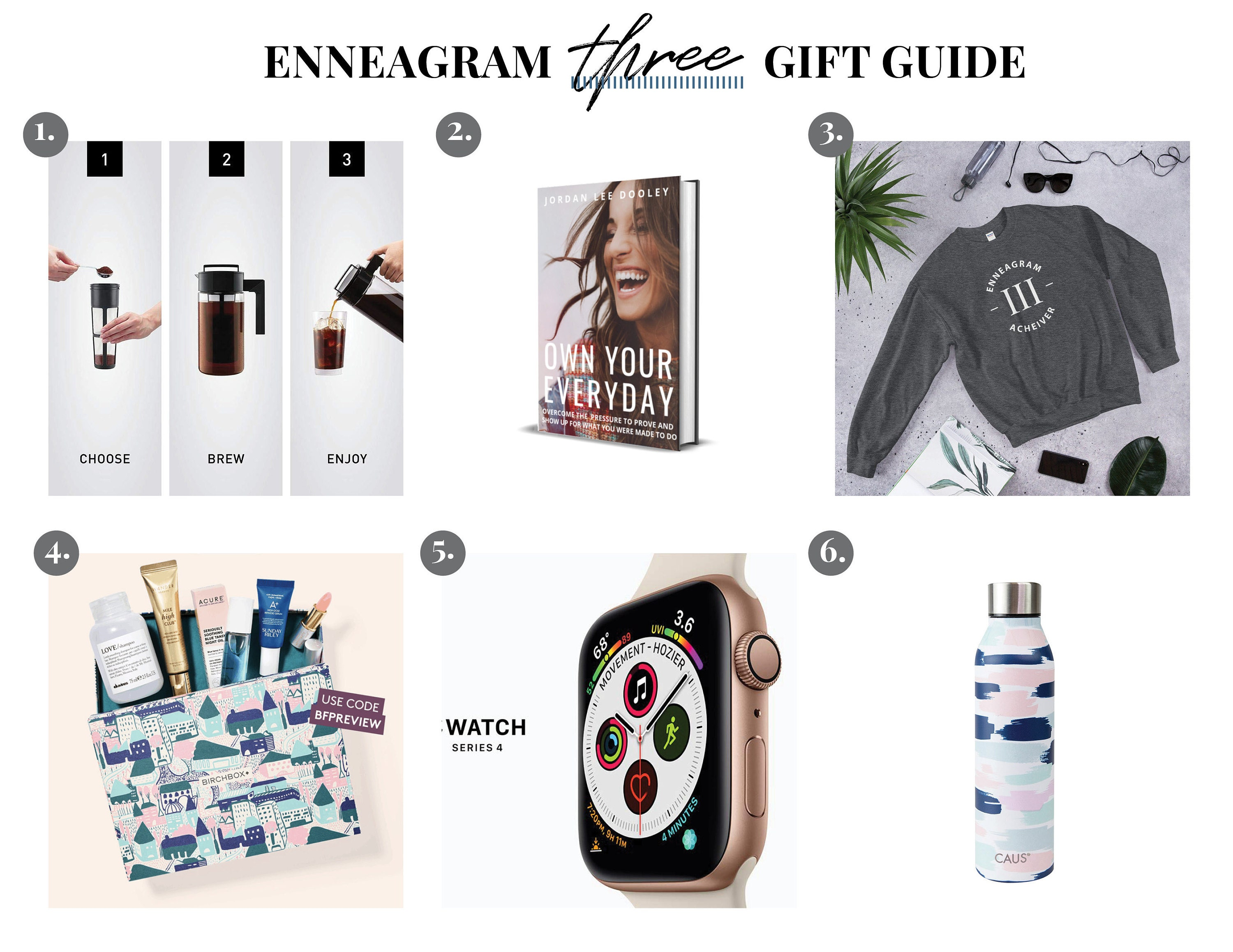 Enneagram Three Gift Guide