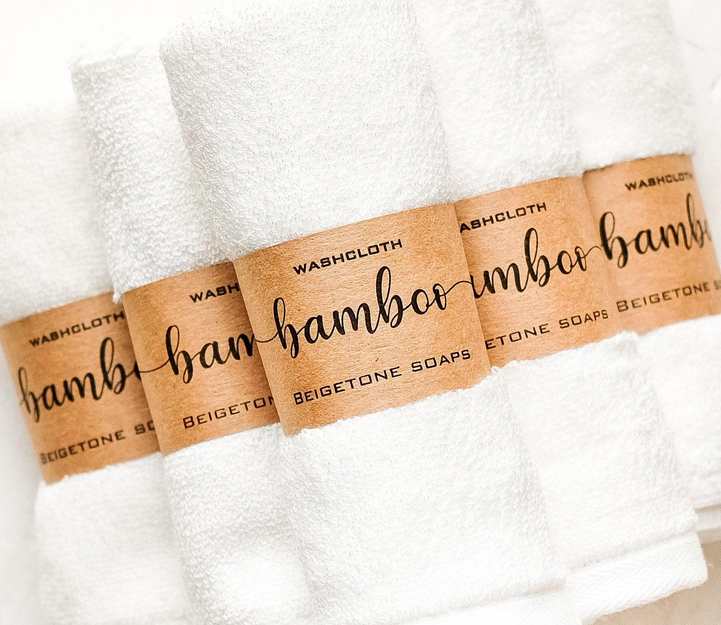12 x 12 Bamboo Pearl Washcloth