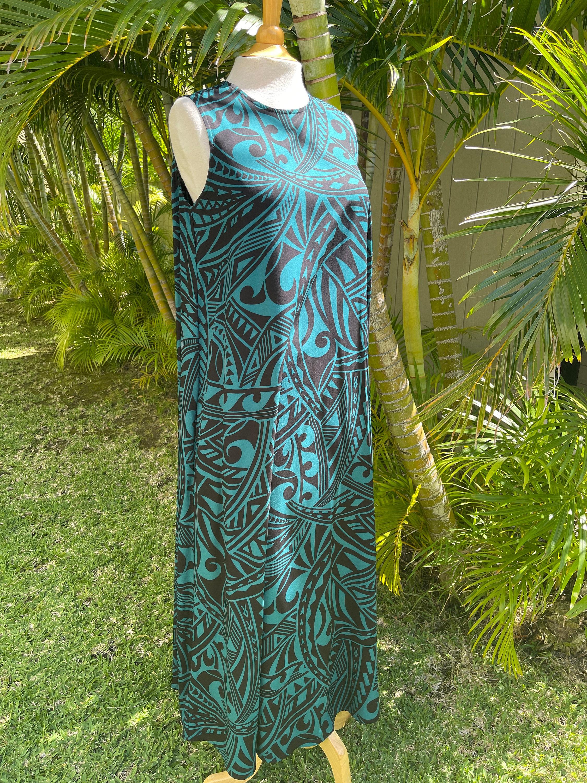 Hawaiian Rayon Dress