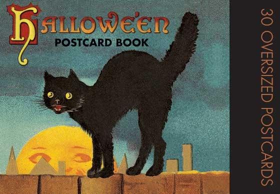 Halloween Postcard Book