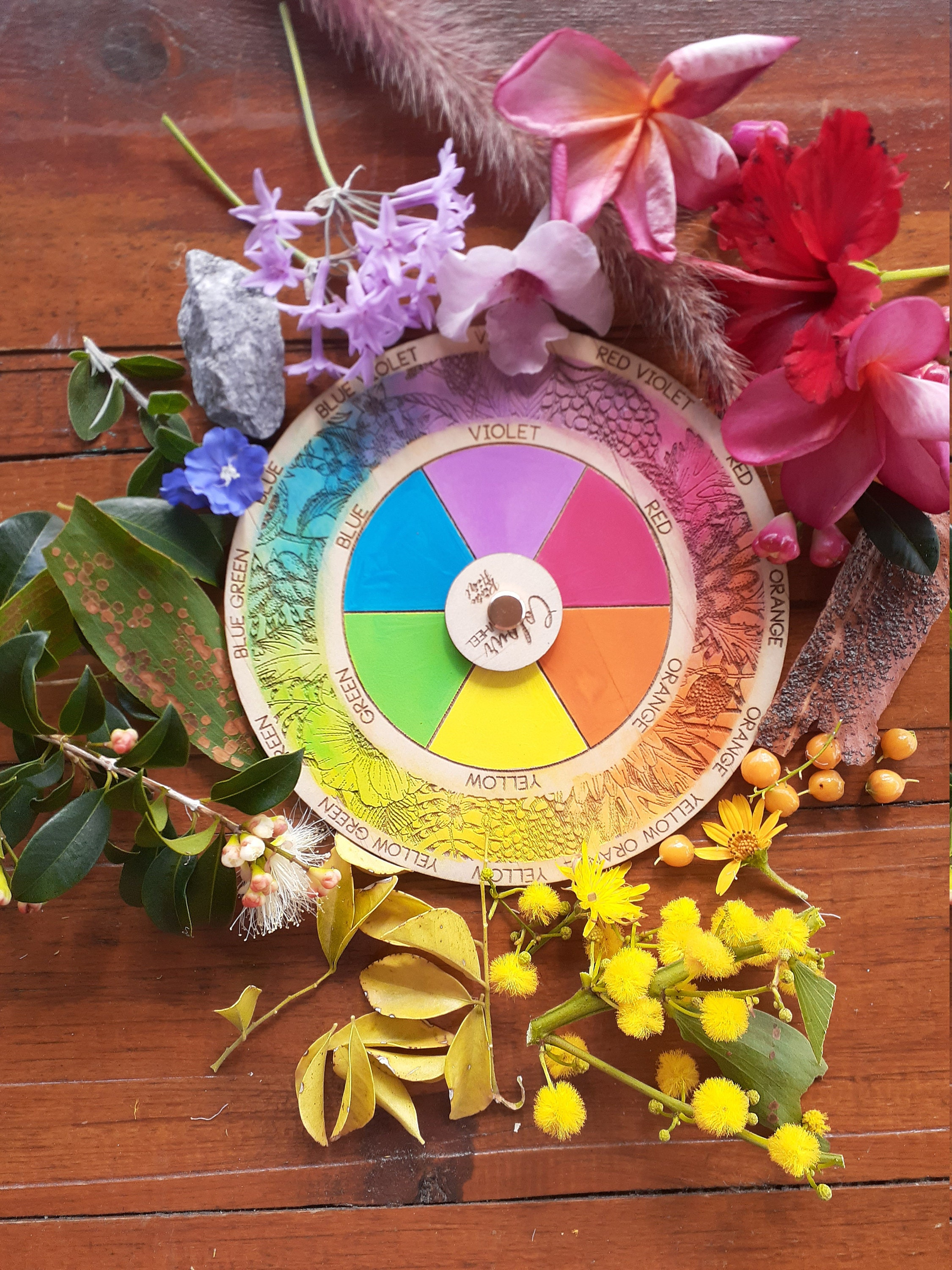 Colour Wheel Art