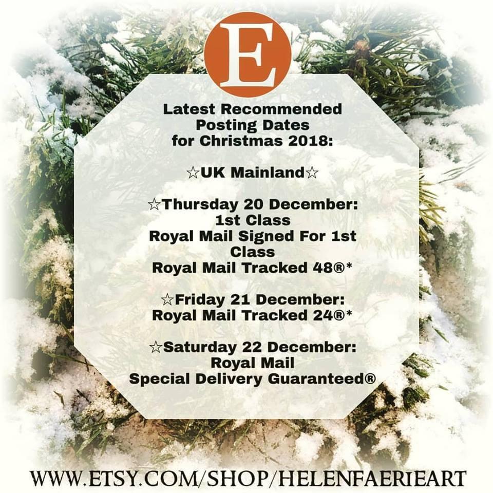 Xmas Shipping Dates