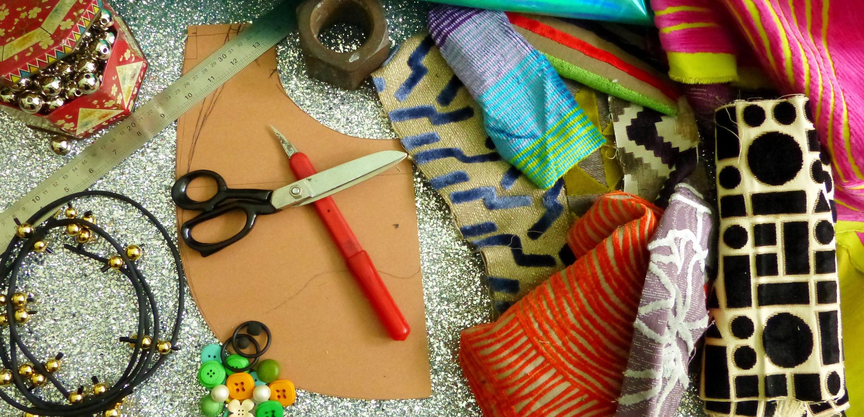 collezione di tessuti, i colori