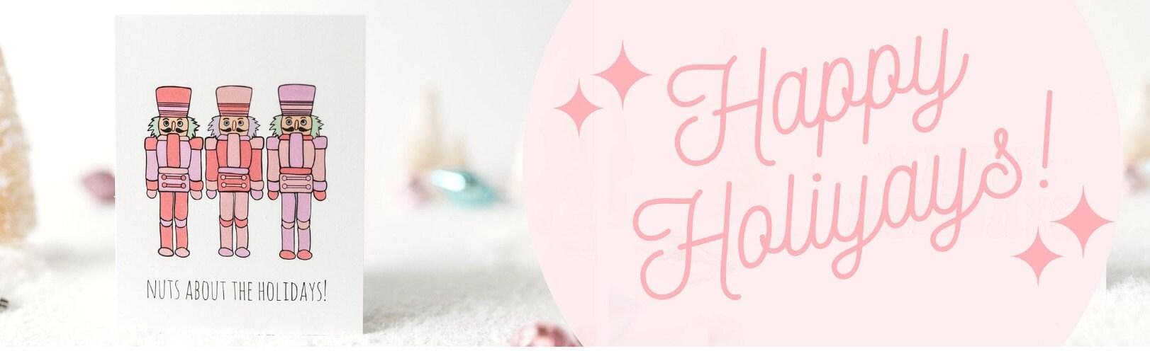 acouplepuns, holiday cards, christmas cards