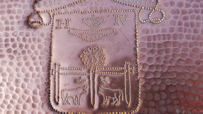 Pau City Crest, 1950s Souvenir Ware