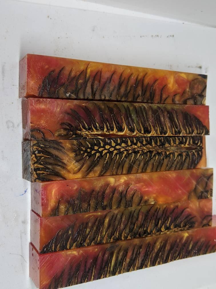 hybrid pen blank pinecone orange