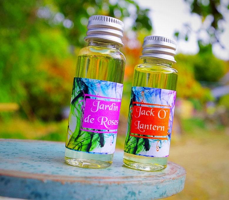 Huiles Parfumées de fabrication française 100% naturelle.