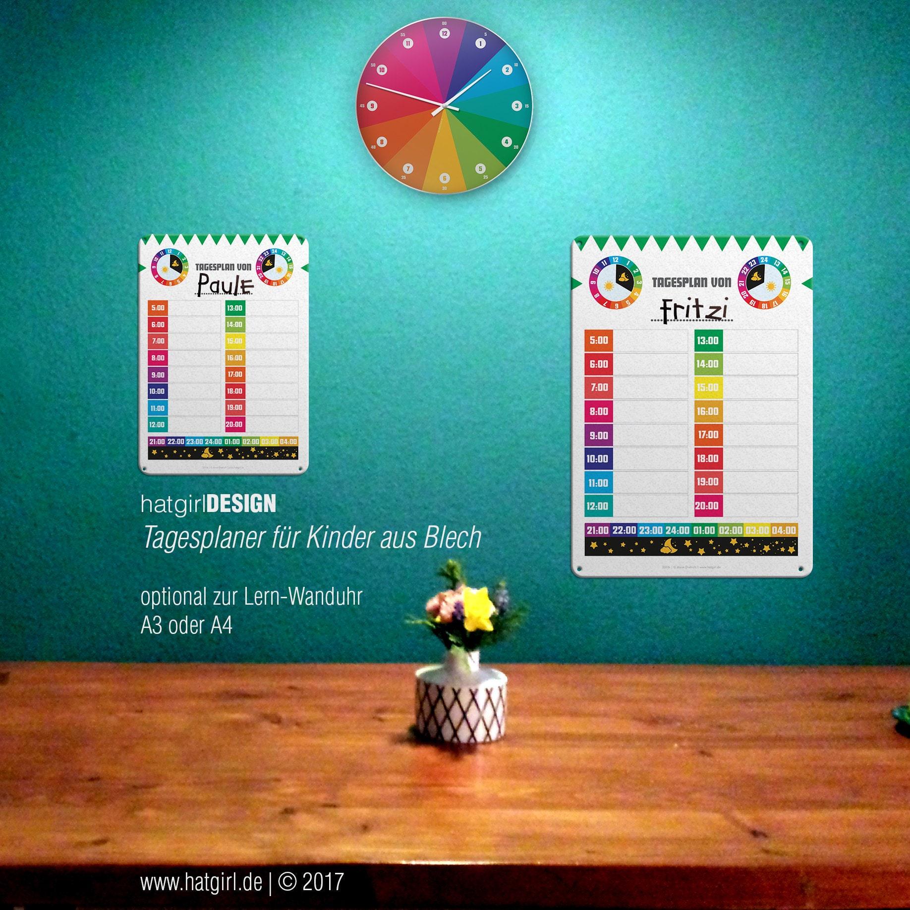 Tagesplaner für Routinen im Kindergartenalter / Schulalter