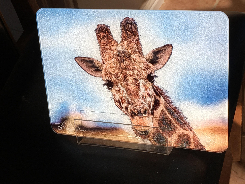 Giraffe Cutting Board Small