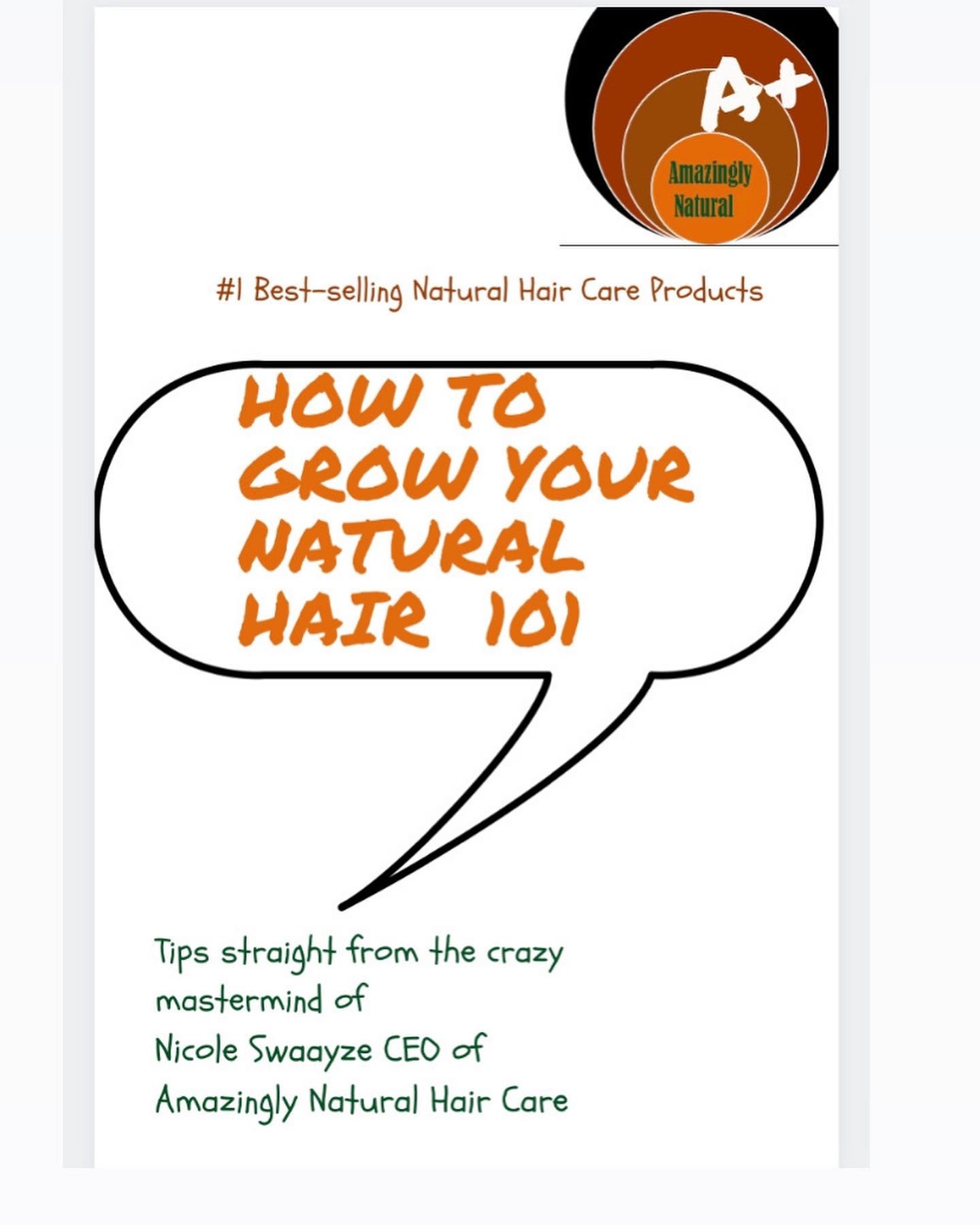 How To Grow Your Natural Hair Ebook