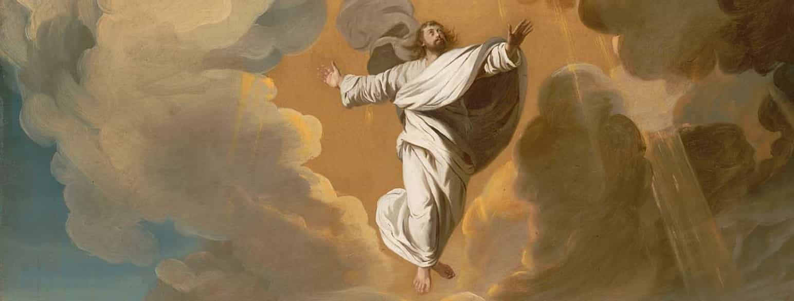 Jesus rises from the dead and ascends into heaven