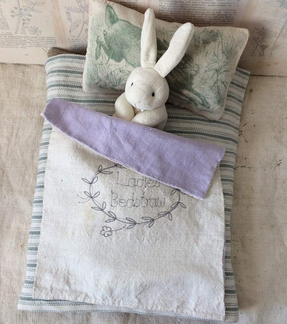 Sewn primitive mattress baby hare collectors piece