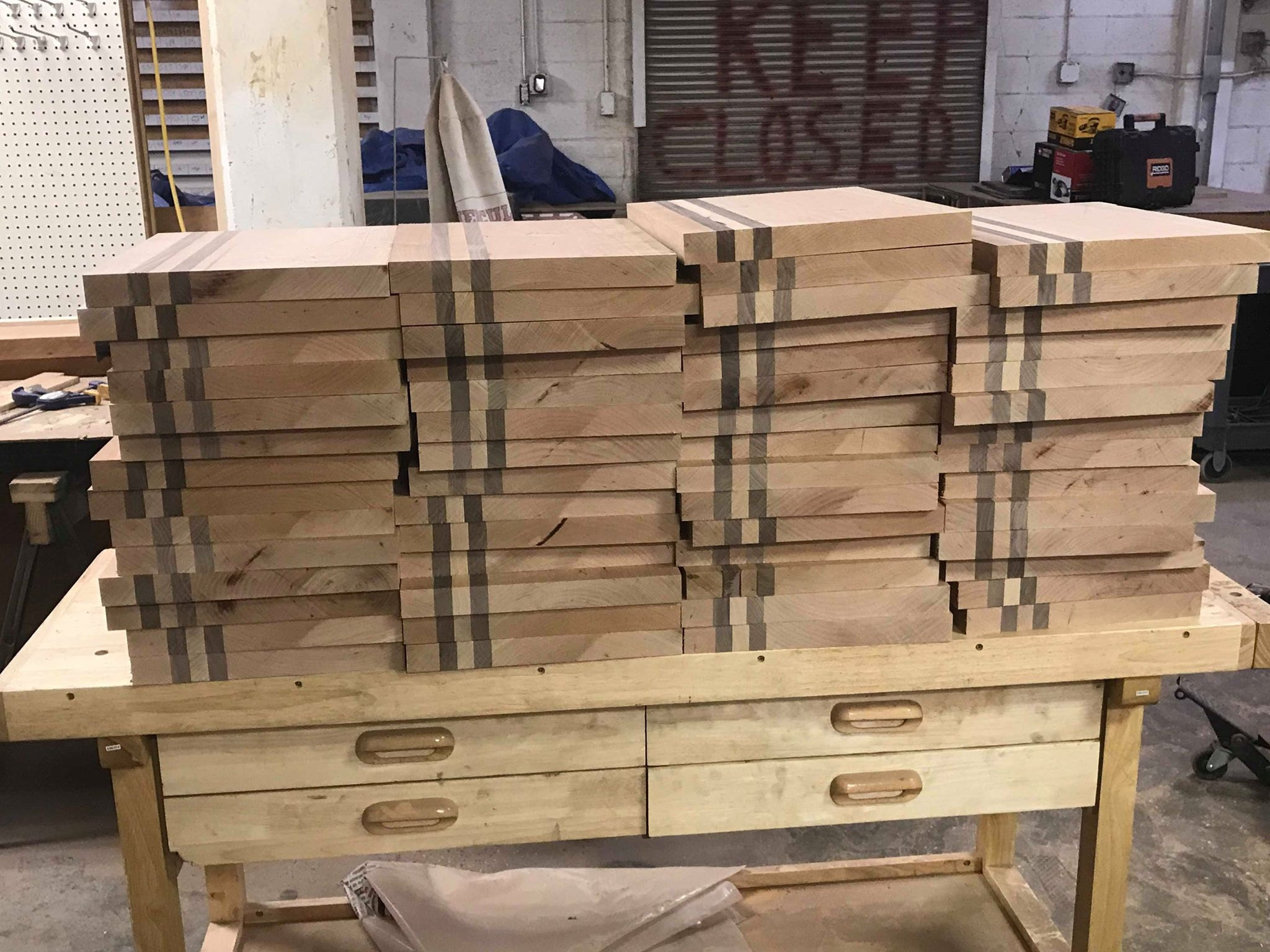 Cutting Boards Pre Routing
