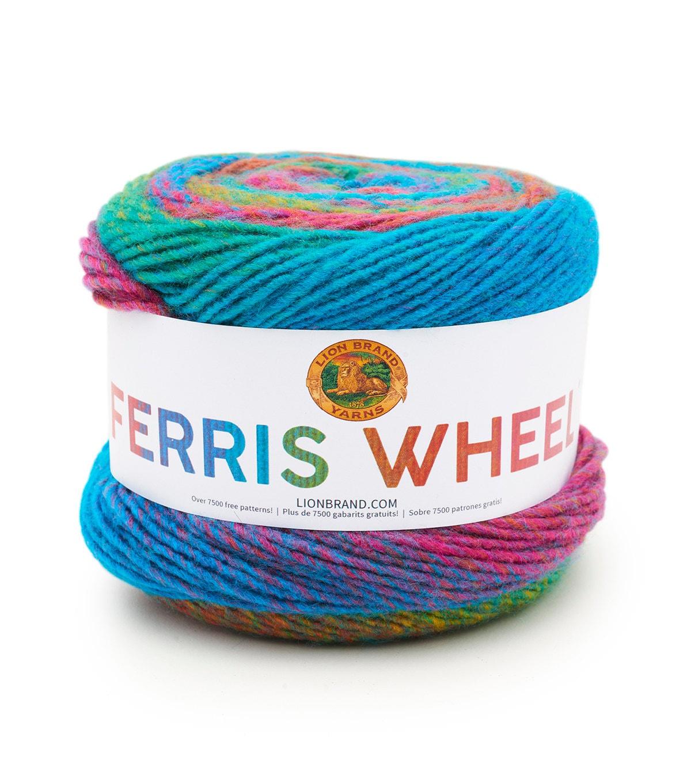 ferris wheel yarn by lion brand