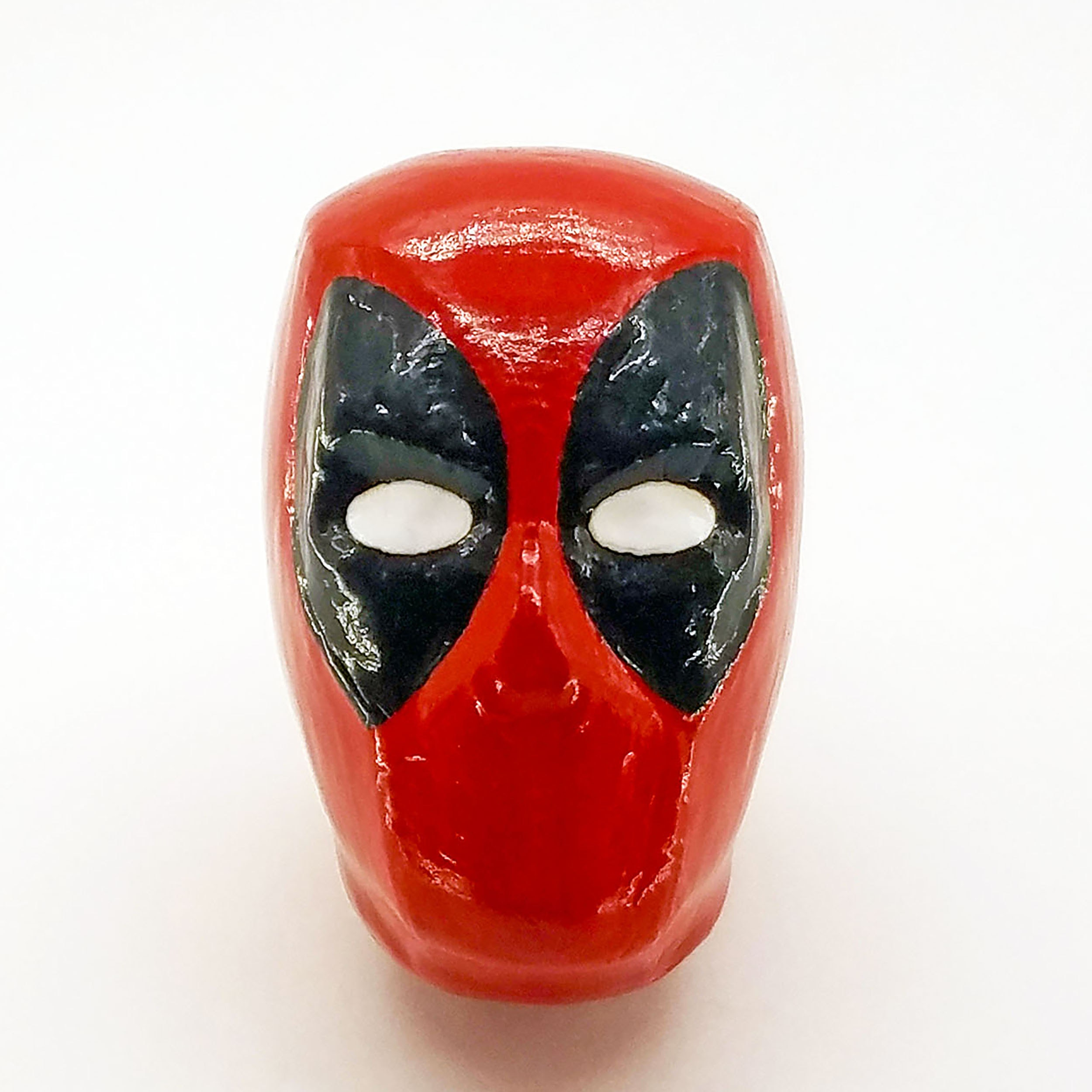 Deadpool Furniture Knob compatible with dressers, drawers, cabinets, closets / Marvel Superhero Decor for bedroom, living room, bathroom, kitchen