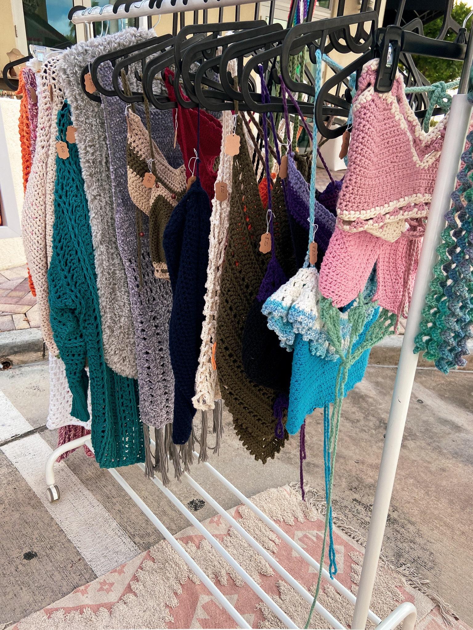 Knot For U Crochet Craft Market Vendor Set Up