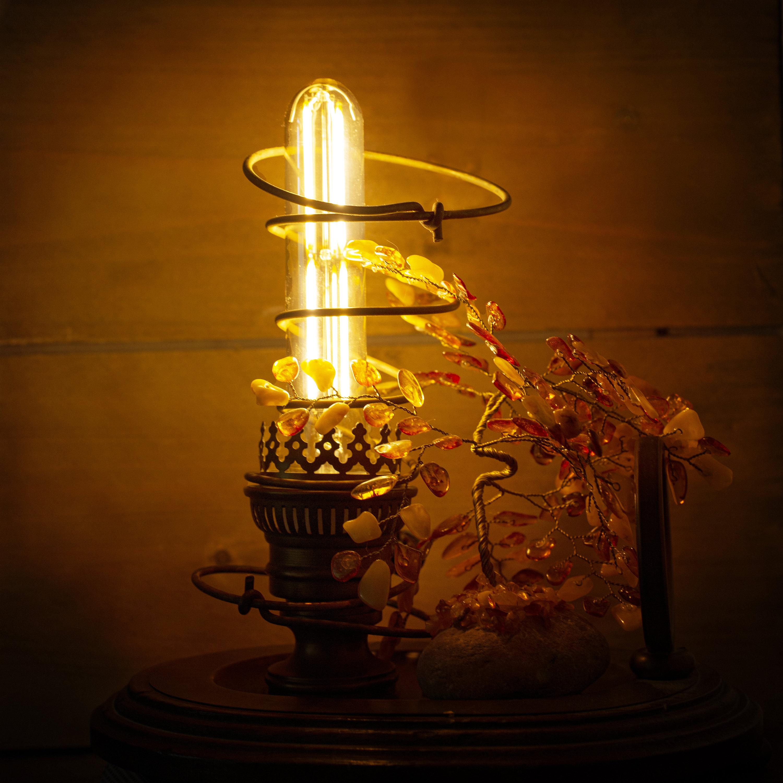 gunadesign recycled vintage oil lamp