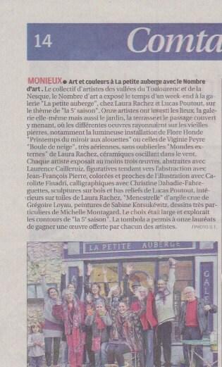 Exposition à Monieux