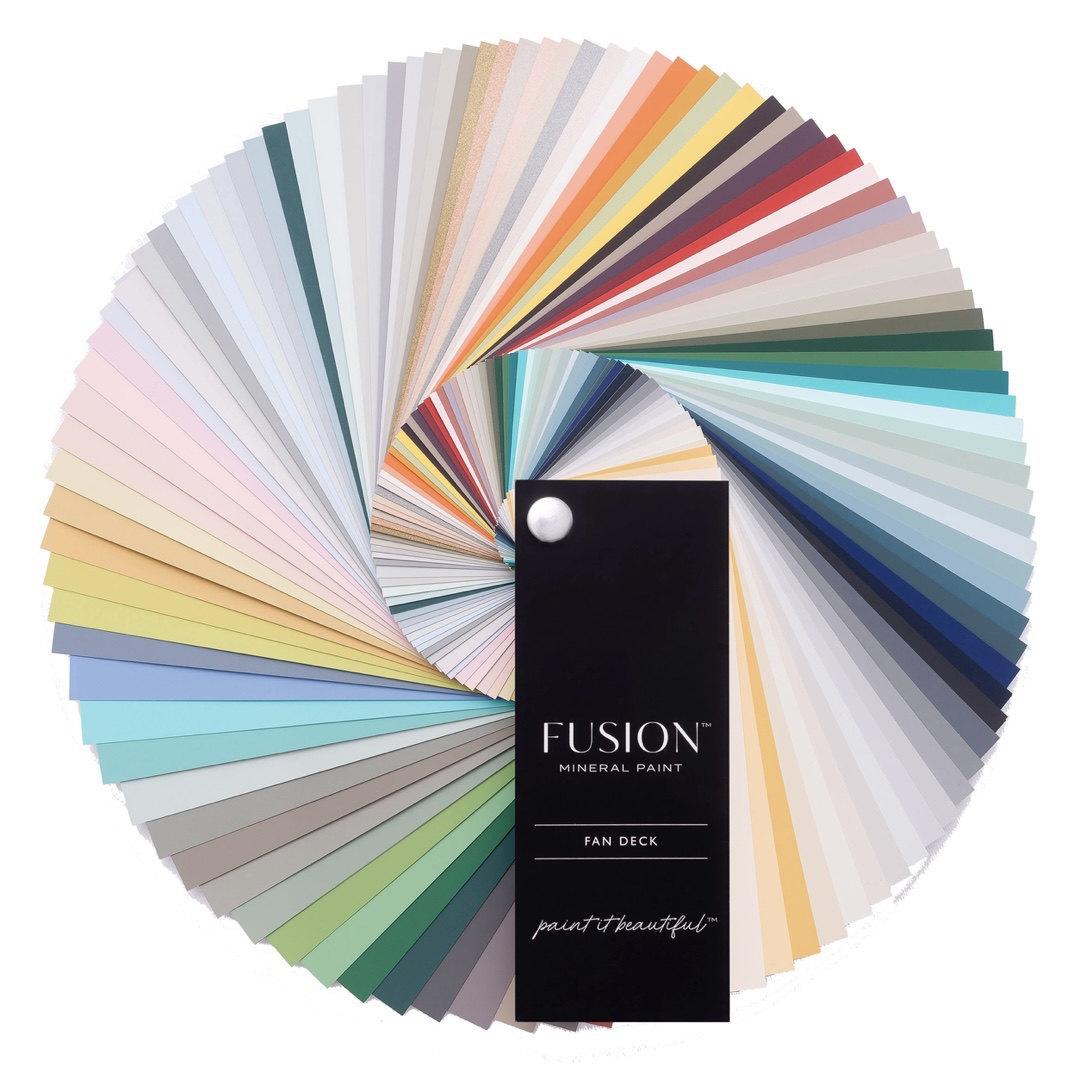 Fusion Mineral Paint Fan Deck
