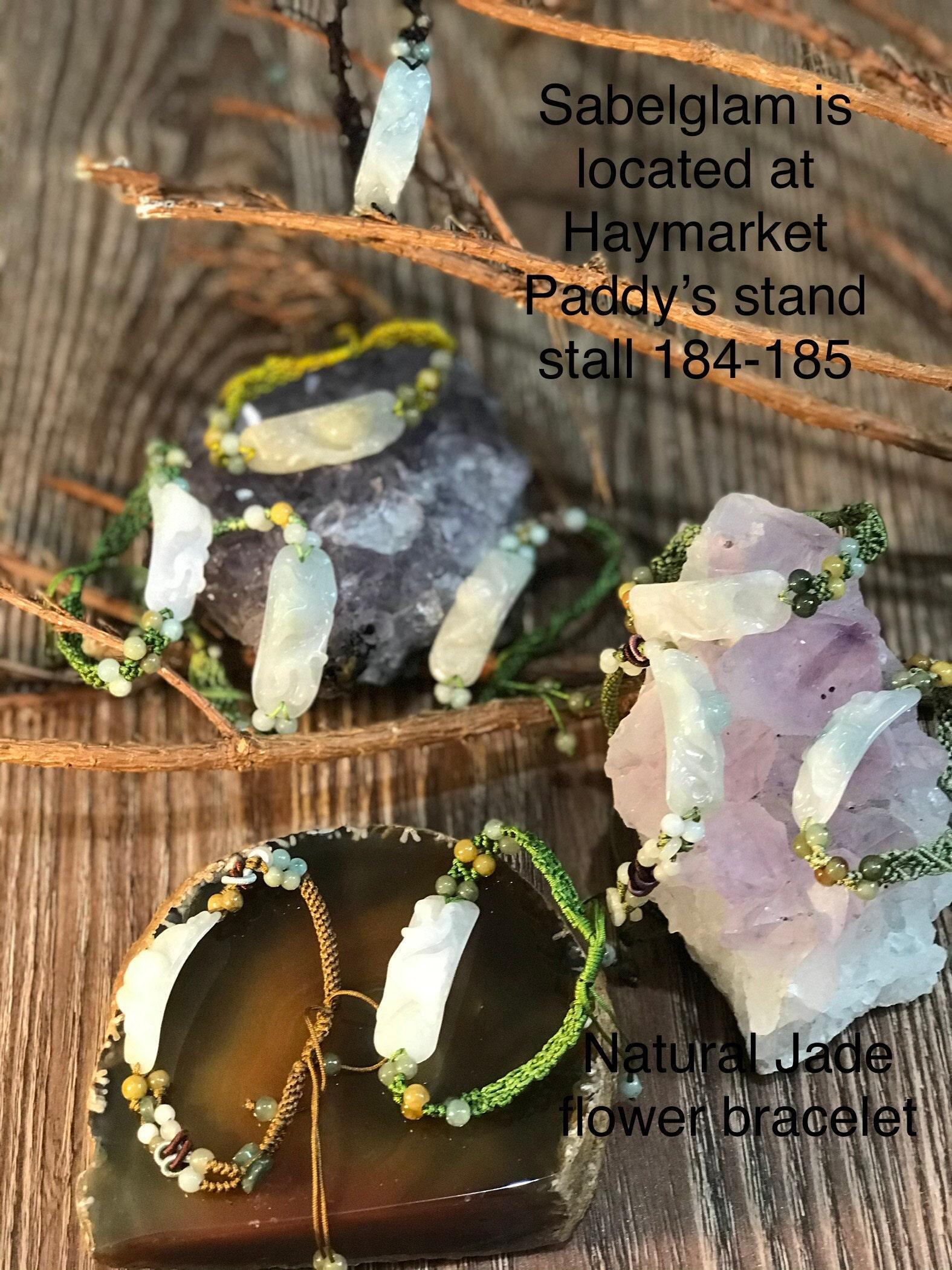Natural bracelet Jade