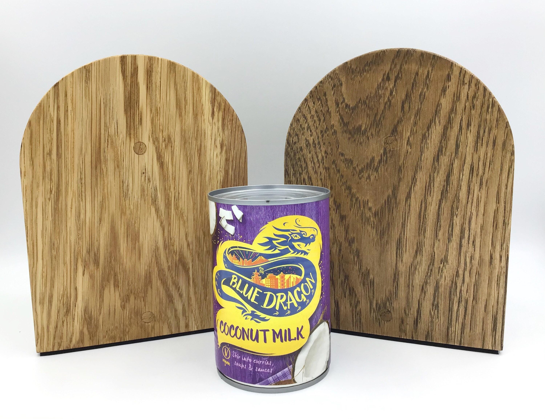 Light Oak wood Doorstops - handmade in West Wales UK by gorlech