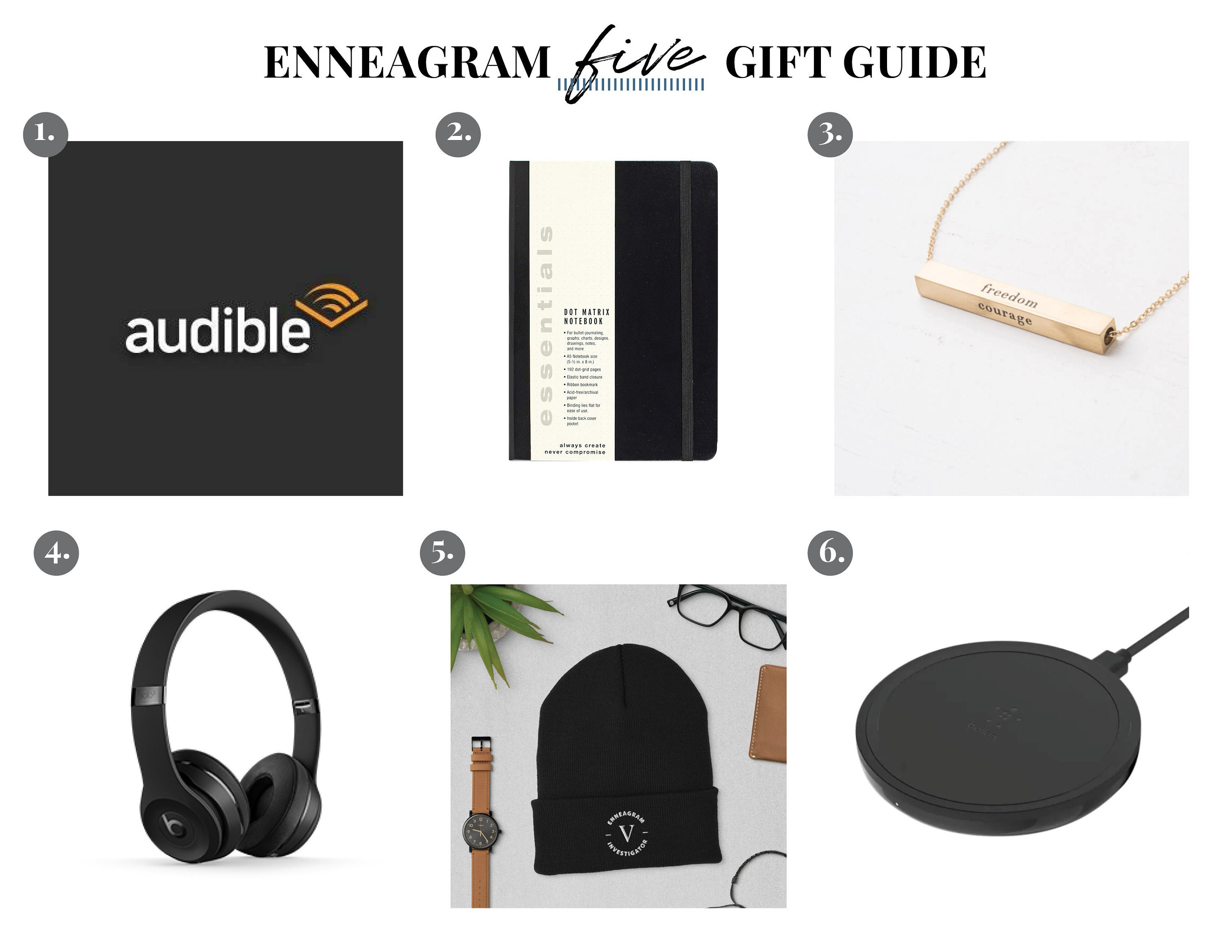 Enneagram Five Gift Guide