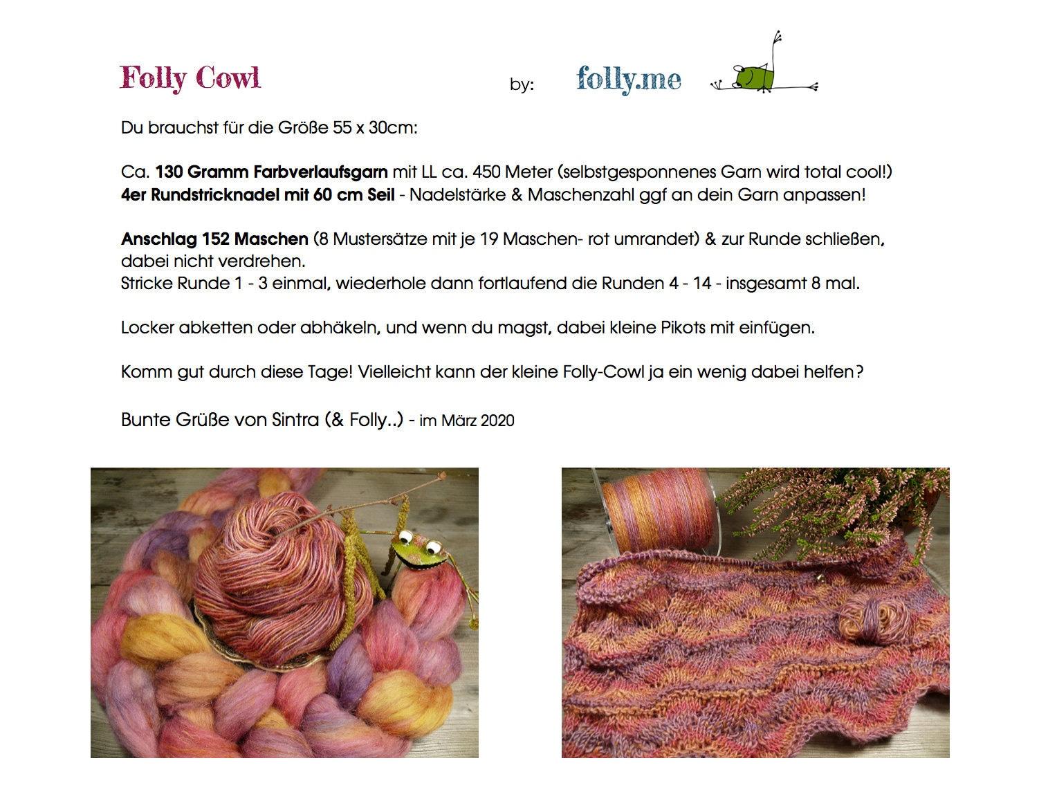 Folly Cowl kostenlose Anleitung von folly.me