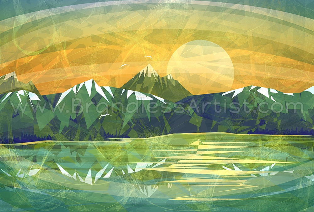 Rocky Mountain Sunset Design