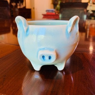 My first altered pig bowl