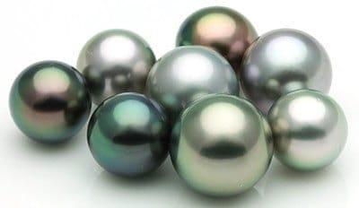 les couleurs des perles de Tahiti