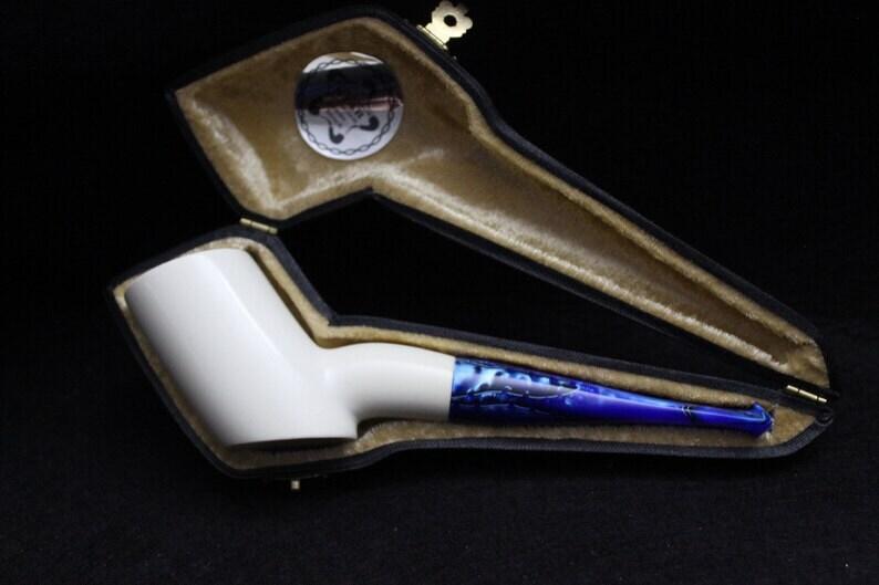 STAR meerschaum pipes premium grade block meerschaum pipe