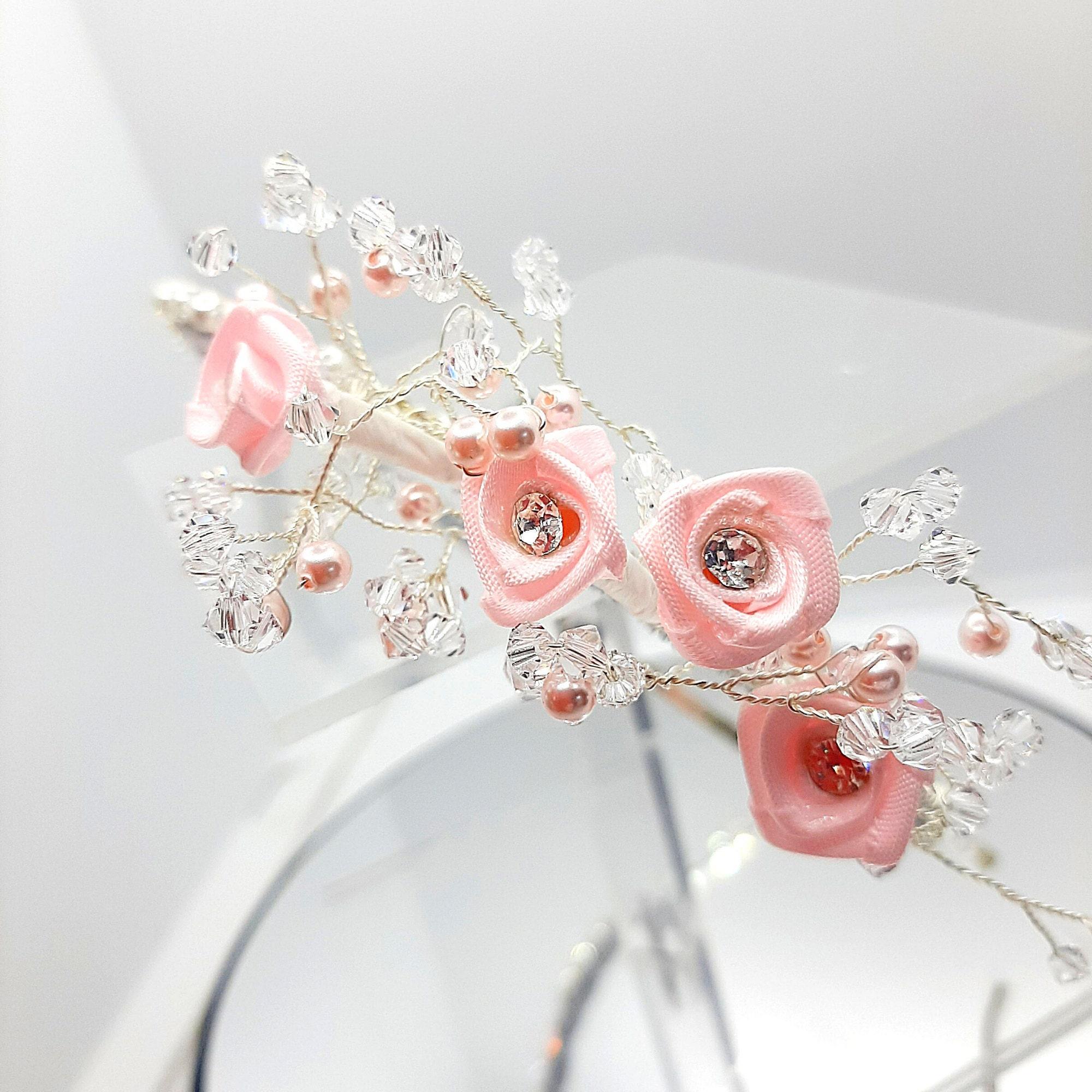 handmade bridesmaid tiara