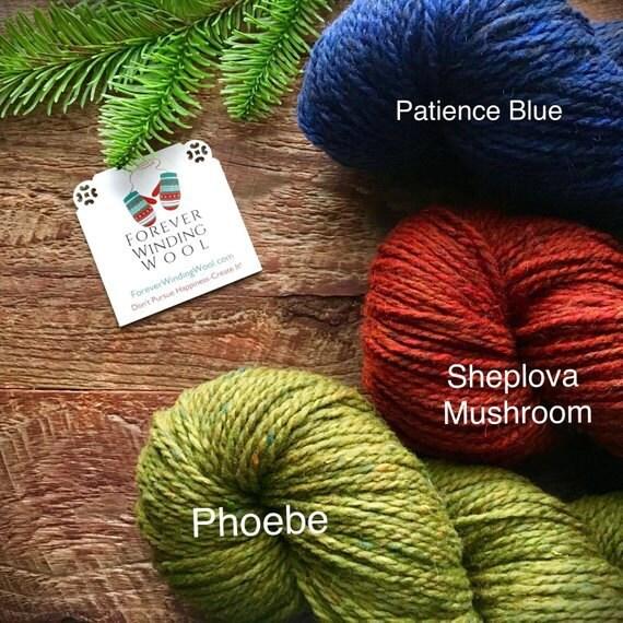 Peace Fleece Sheplova, Patience Blue, Phoebe