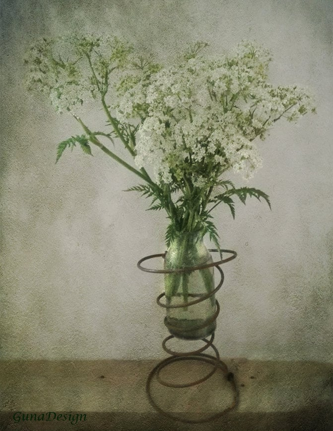 vintage chair spring vase by gunadesign