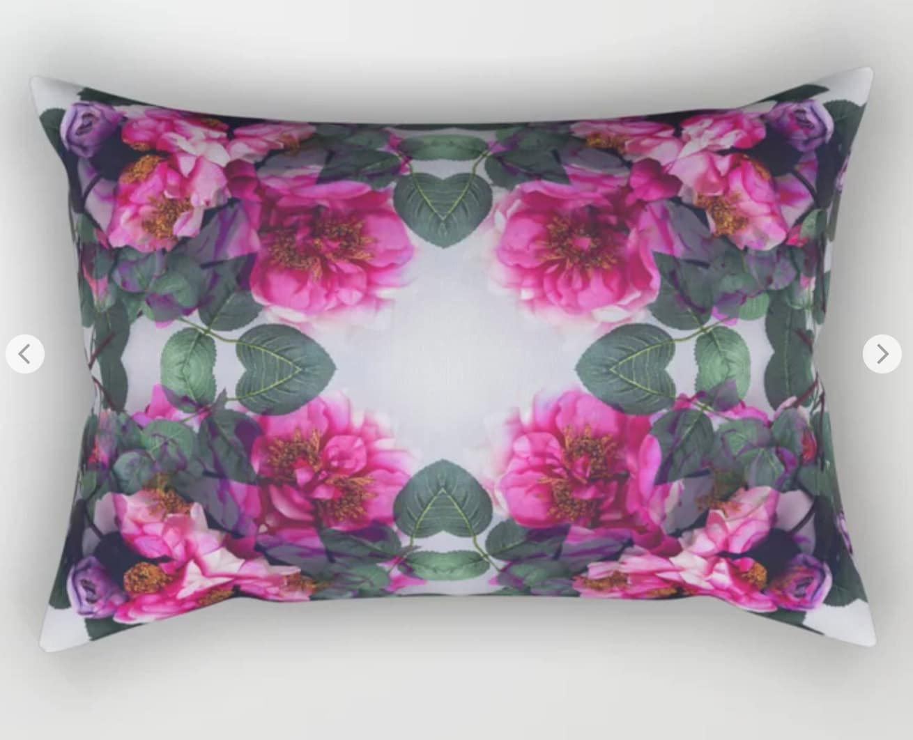 Rosy Posy Pillows