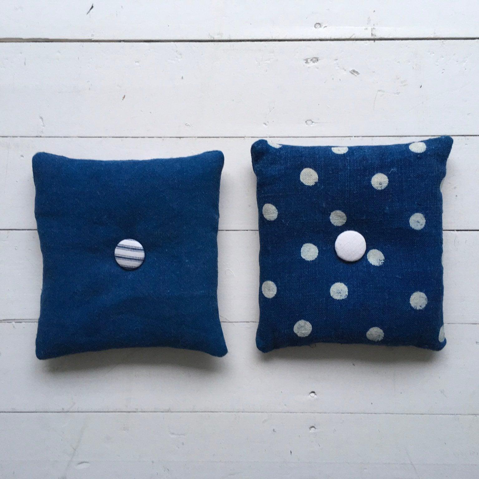 Polka Dot Lavender Cushions