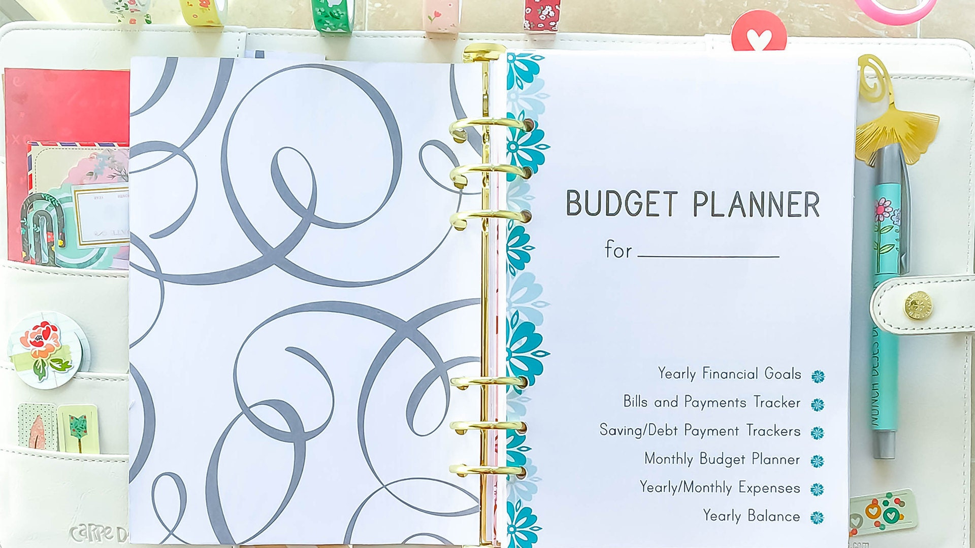 Budget Planner by EasyLifePlanners